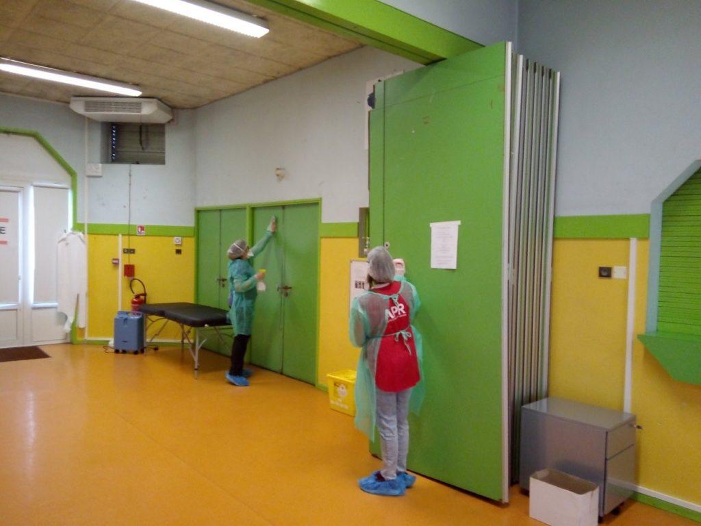 apr nettoyage covid 19 phoebus | APR